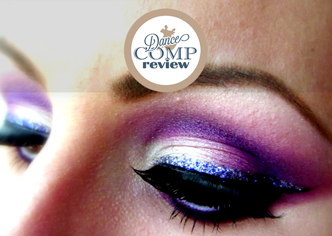 Purple White Ballroom Dance Makeup Tutorial Dance Comp Review