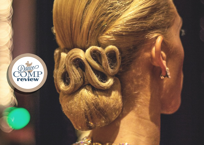 Competitive Bun Swirls Hairstyle Tutorial Dance Comp Review