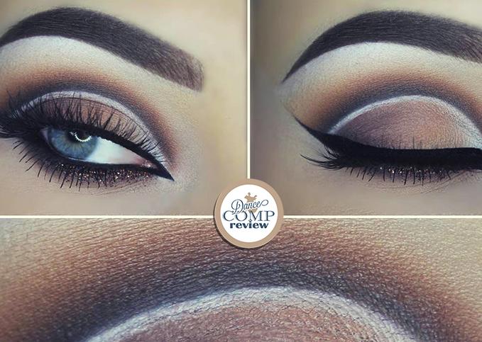 06fe5e9a4dc Brown Cutcrease Makeup Tutorial - Dance Comp Review