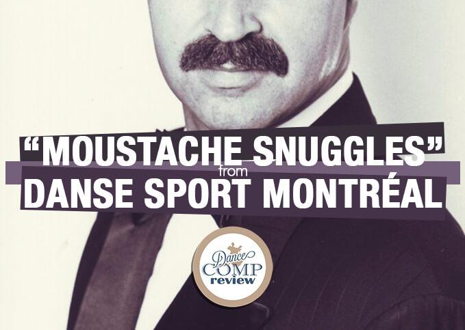 Moustache Snuggles from Danse Sport Montréal